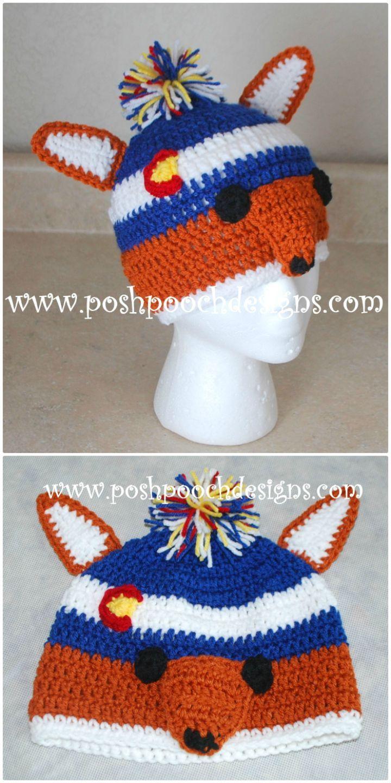 50 Free Crochet Fox Patterns - Crochet Fox Hat - Page 2 of 3