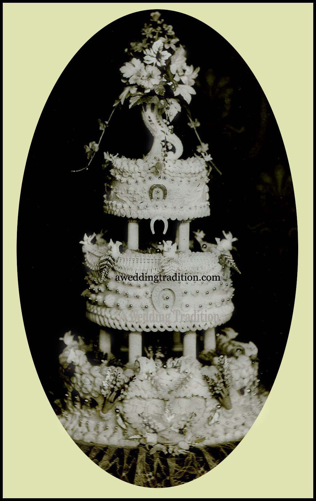 Victorian Wedding Cake Toppers