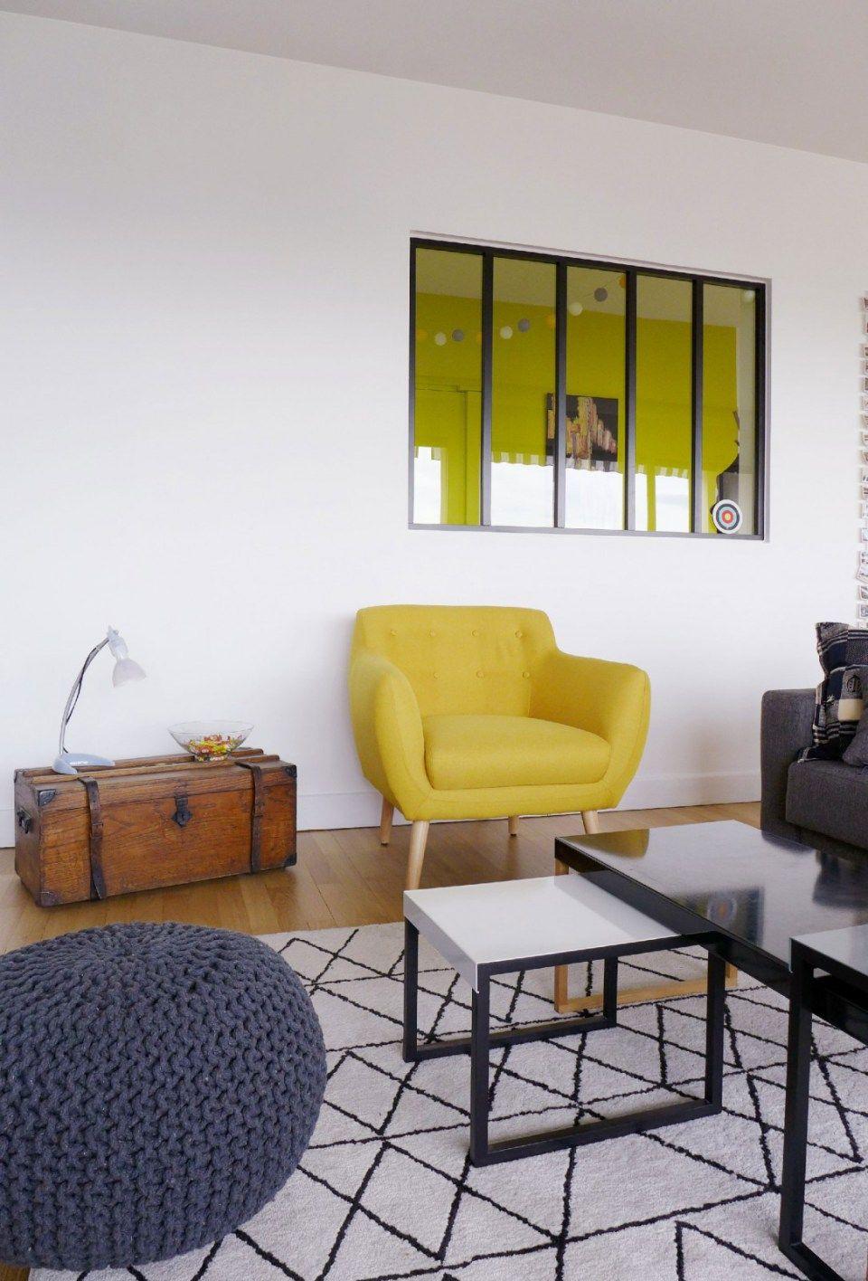 Skea Designer Polychrome Decoration Salon Appartement Decoration Salon Jaune Decoration Maison