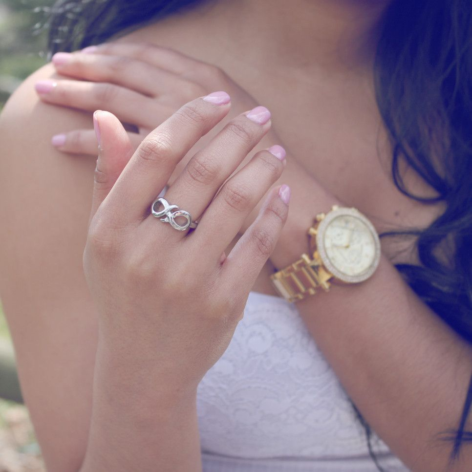 Sister Ring, Infinity Ring, Promise Ring for Sister