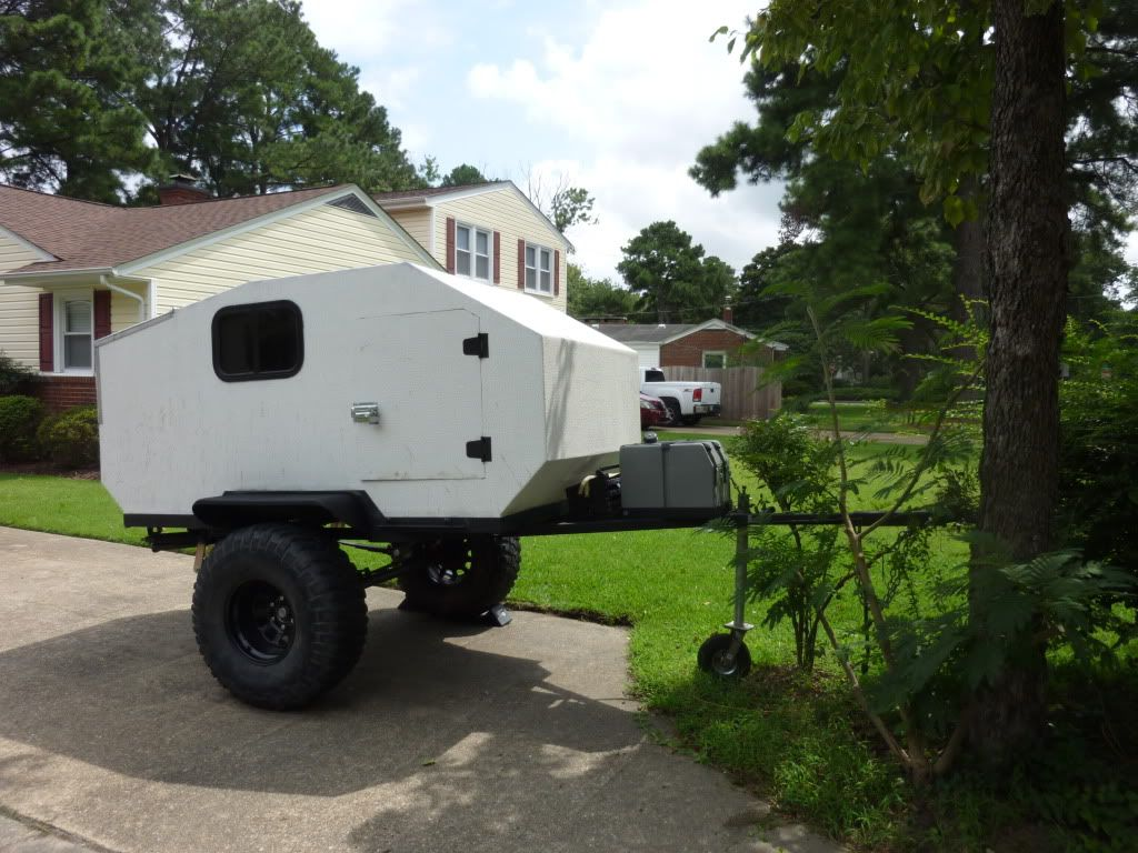New Cool Homemade Camper  Camping Trailer  Pinterest