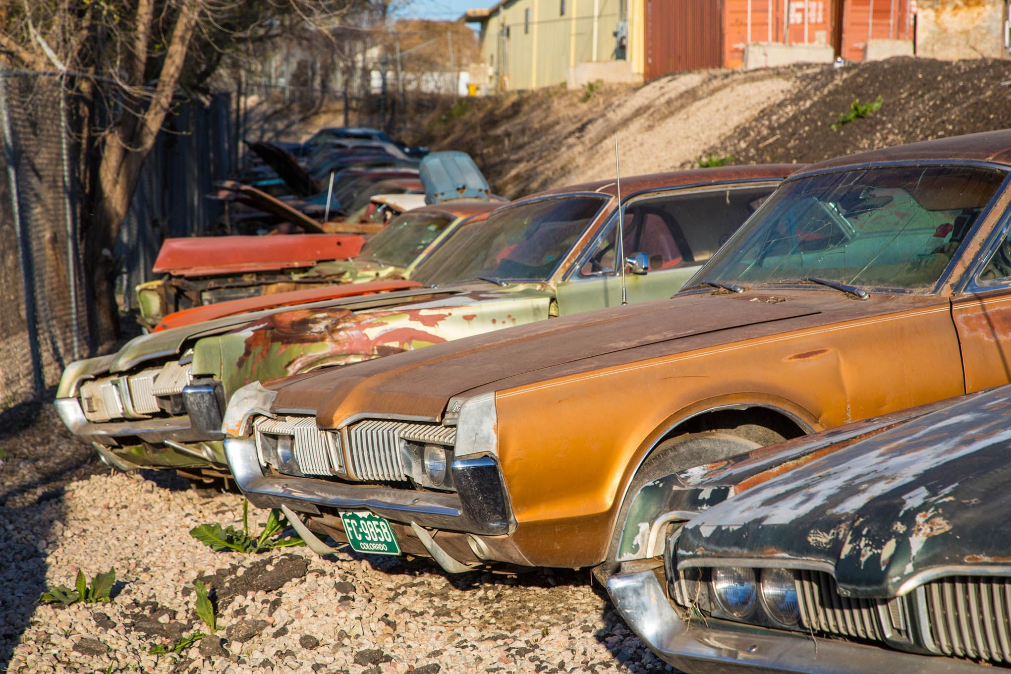 Cougars Barn Finds Abandoned Cars Junkyard Cars