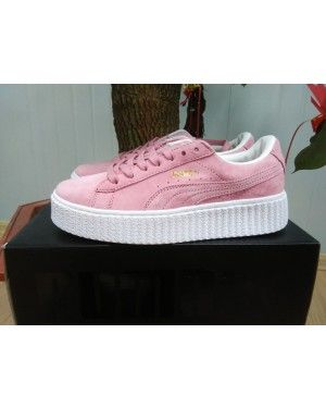 Suede Creepers Pink Rihanna Shoes Puma Womens Casual X WhiteWish tshrQd