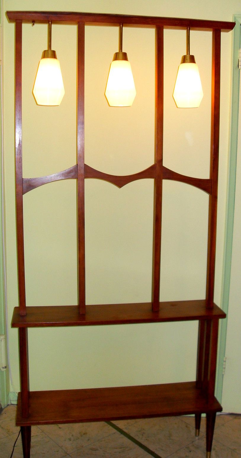 lighted room divider shelf mad for mid century room dividers pinterest room divider. Black Bedroom Furniture Sets. Home Design Ideas