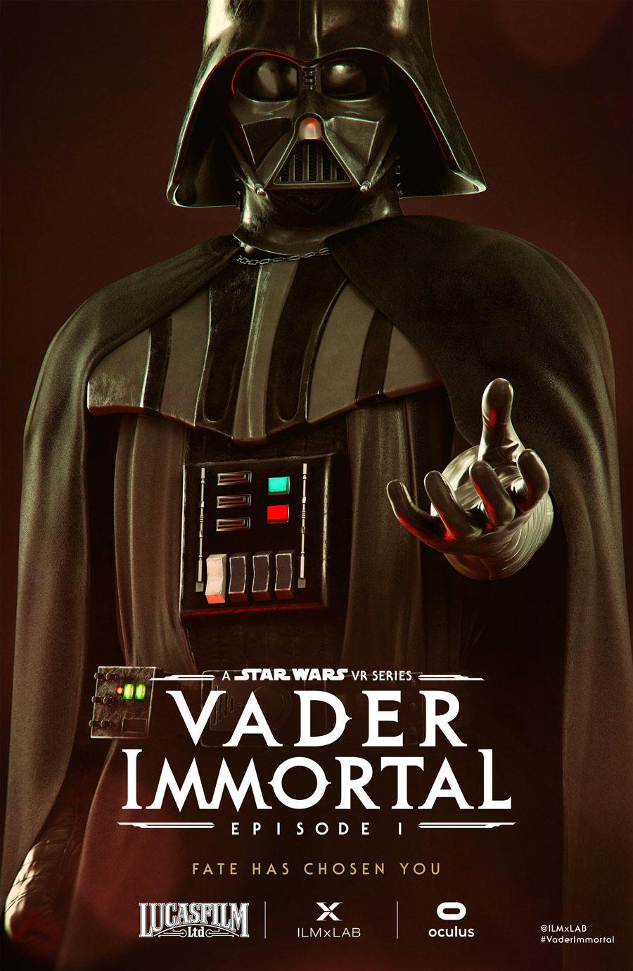 darthvader sdcc vaderimmortal Star wars history, Star