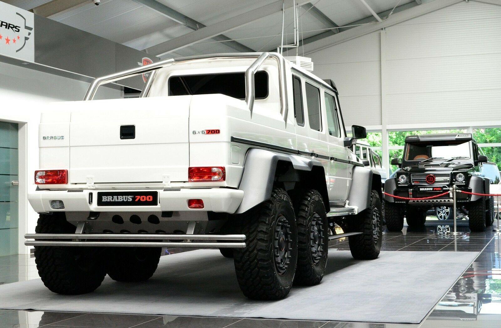 Mercedes Benz G 63 Amg 6x6 Brabus700 Luxury Pulse Cars Germany