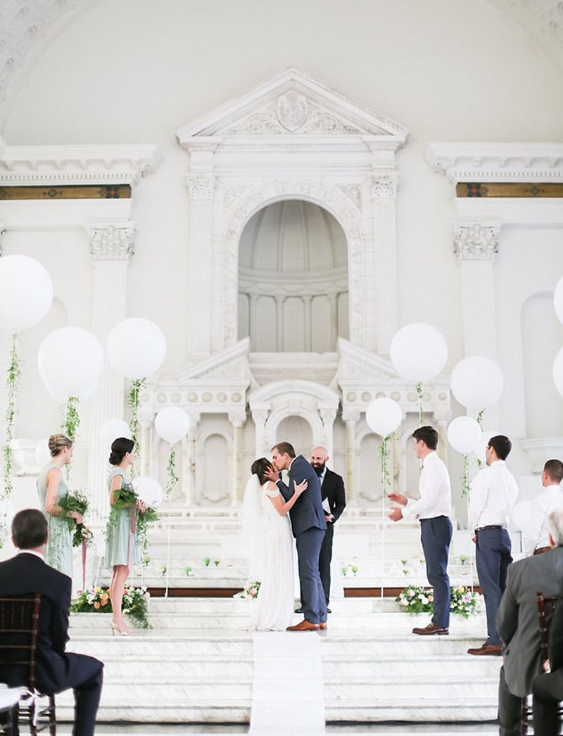 Yes, Balloons Make Really Beautiful (And Really Affordable) Wedding ...