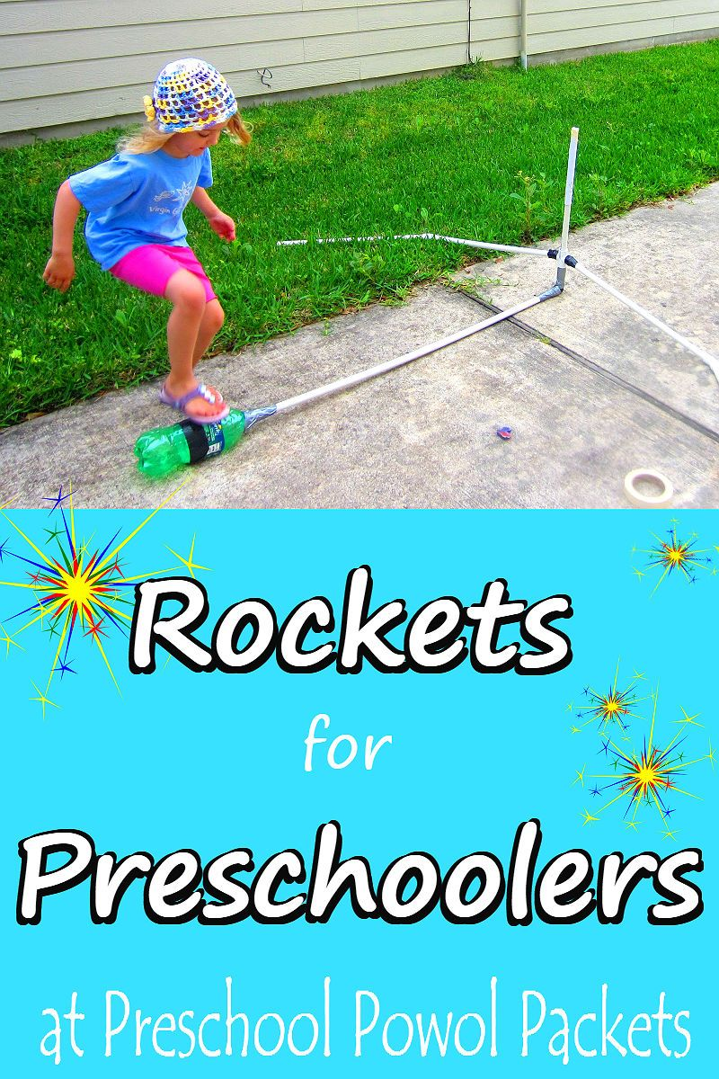 Rockets for Preschoolers! Space activities, Space