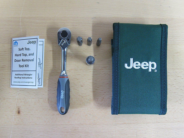 Jeep Wrangler Hard Top & Door Removal Tool Kit Jeep