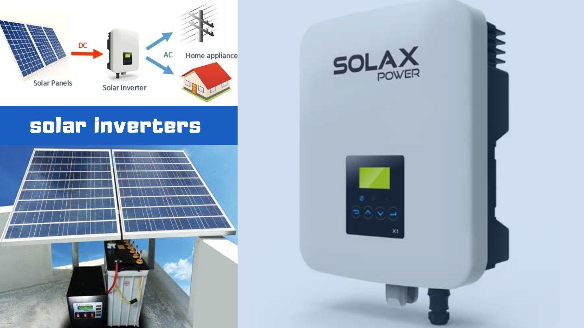 Solar Inverters In 2020 Solar Inverter Solar Power Inverter Solar