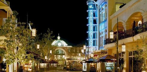 The Grove Los Angeles CA LA Shopping MustSee Shopping - First shopping center in usa