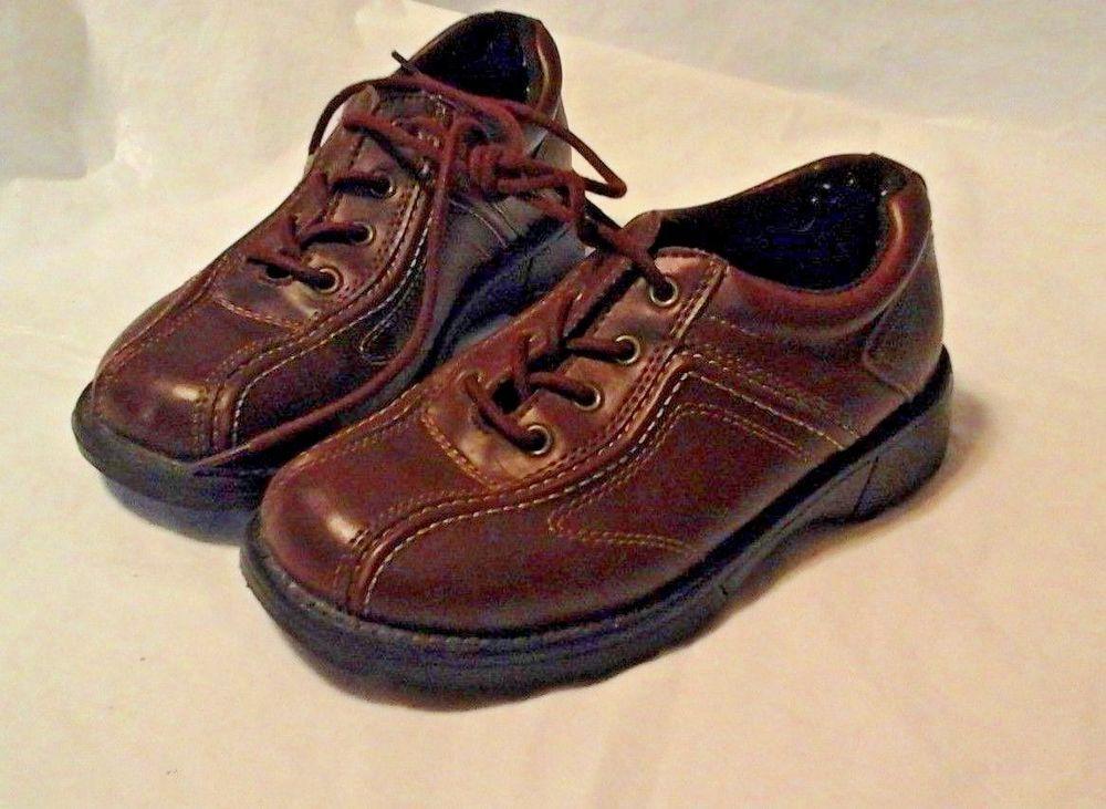 Boys brown smartfit brown sz 12 12 smartfit oxfords