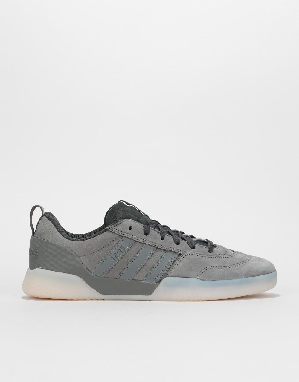 hot sales 6233c 3c77a Adidas x Numbers City Cup Skate Shoes - Grey Carbon Grey   Skate Shoes