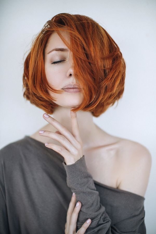 Salon Services Short Red Hair Red Bob Hair Hair Styles