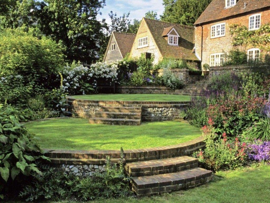 French country garden bench - French Country Garden Plans Interior Designs Idea