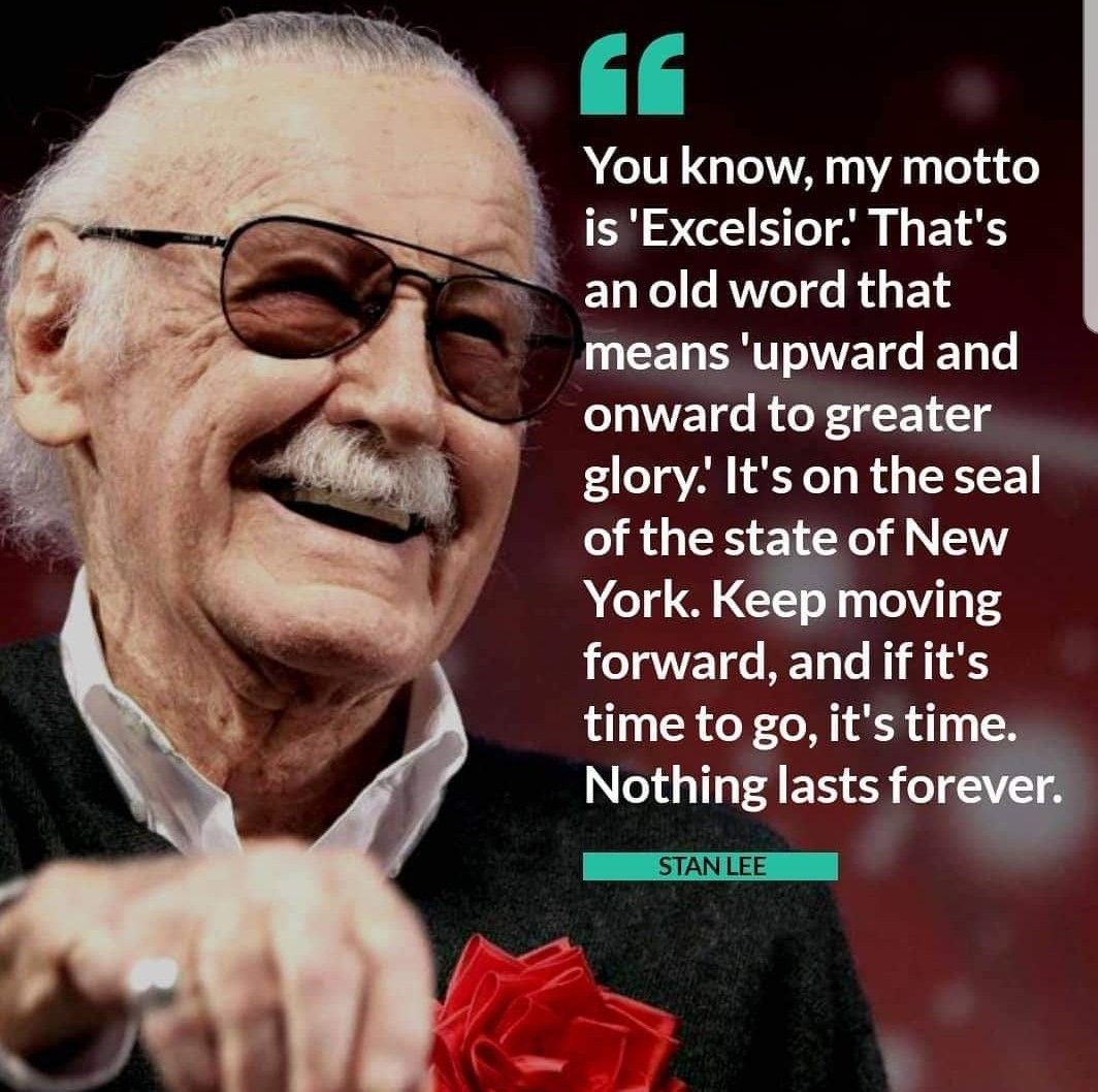 Pin By Twilightsm On Great Quotes Stan Lee Good Vibes Meaning Stan Lee Quotes