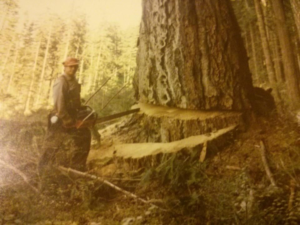 Bud Saulsgiver‎Old Logging Pictures   Nimkish valley early 80s