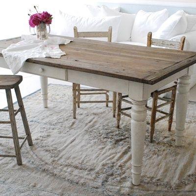 Risultati immagini per TAVOLO LEGNO GREZZO | kitchen | Tavolo legno ...