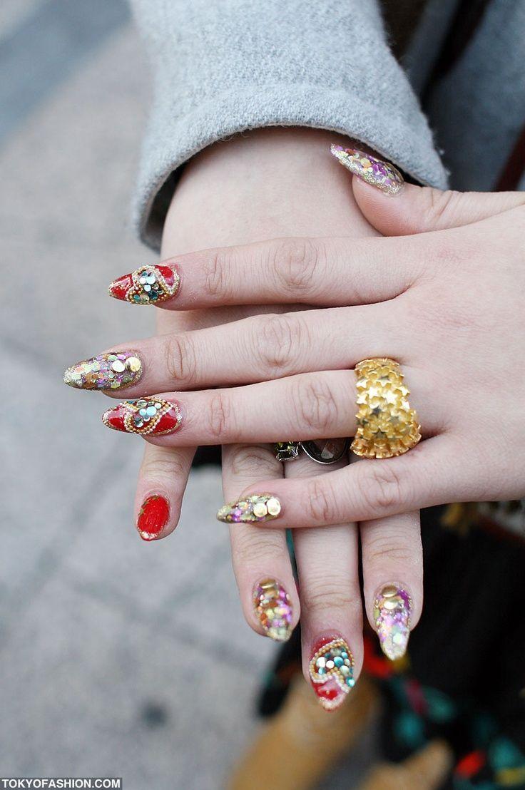 Ideas about japanese nail art on pinterest - Nail Art Design Ideas Japanese