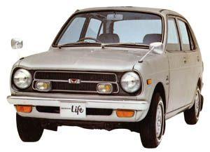 Honda|ライフ(1974年終了モデル)