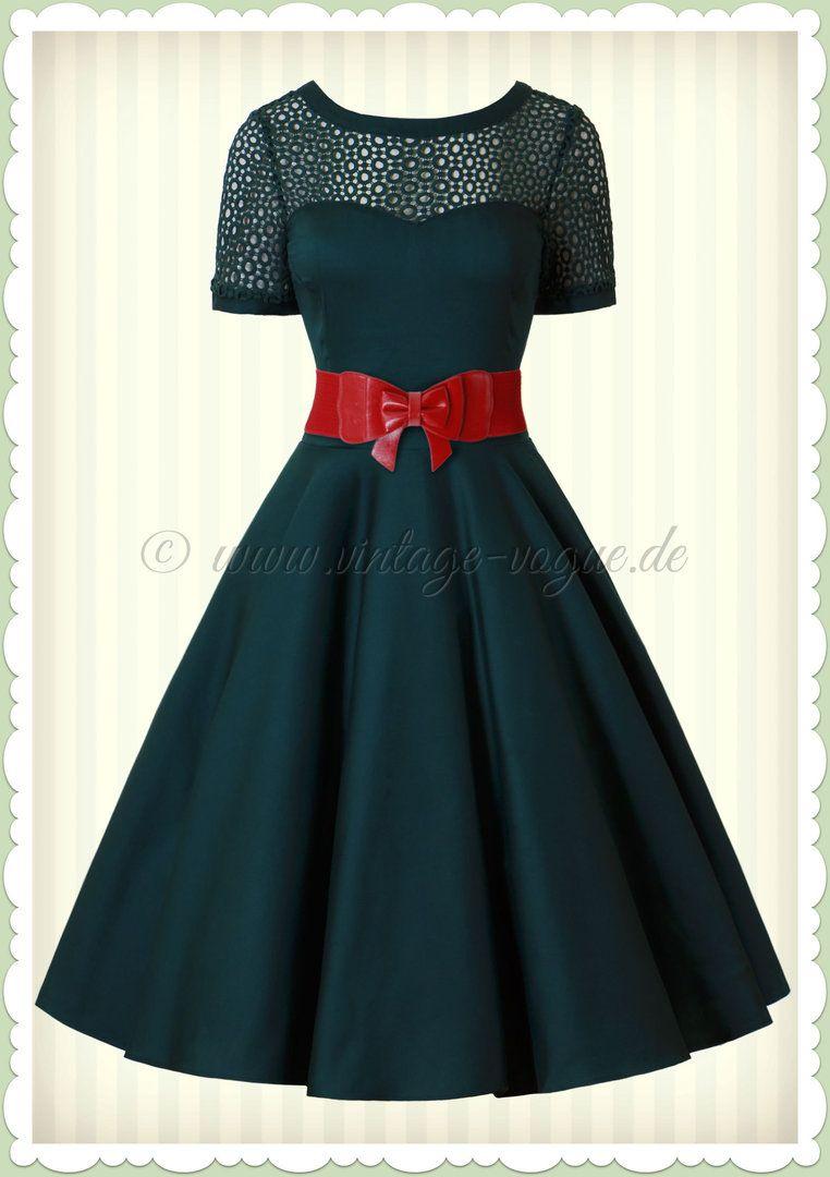 dolly & dotty 50er jahre retro rockabilly petticoat kleid