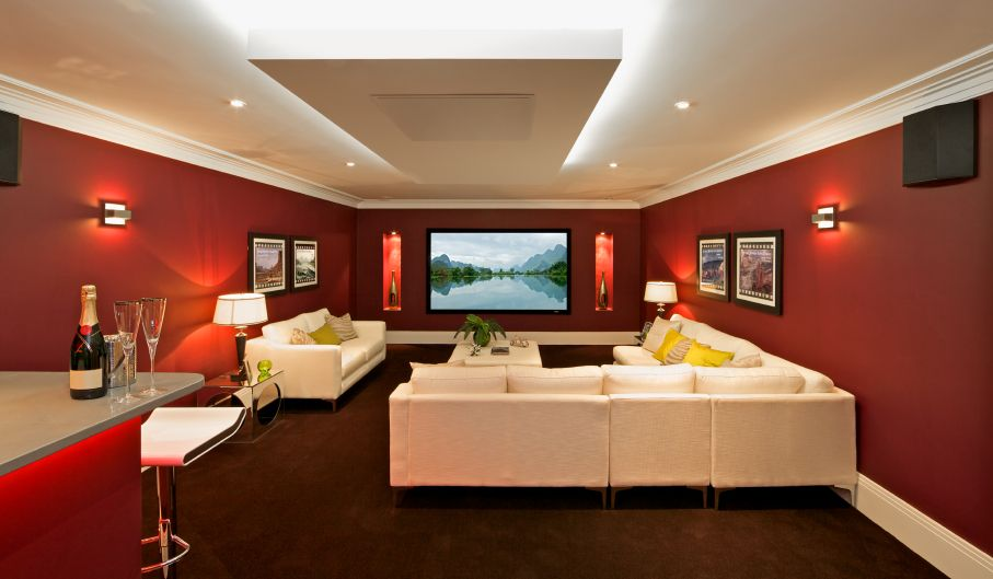 great ways to upgrade your home theater room movie rooms and
