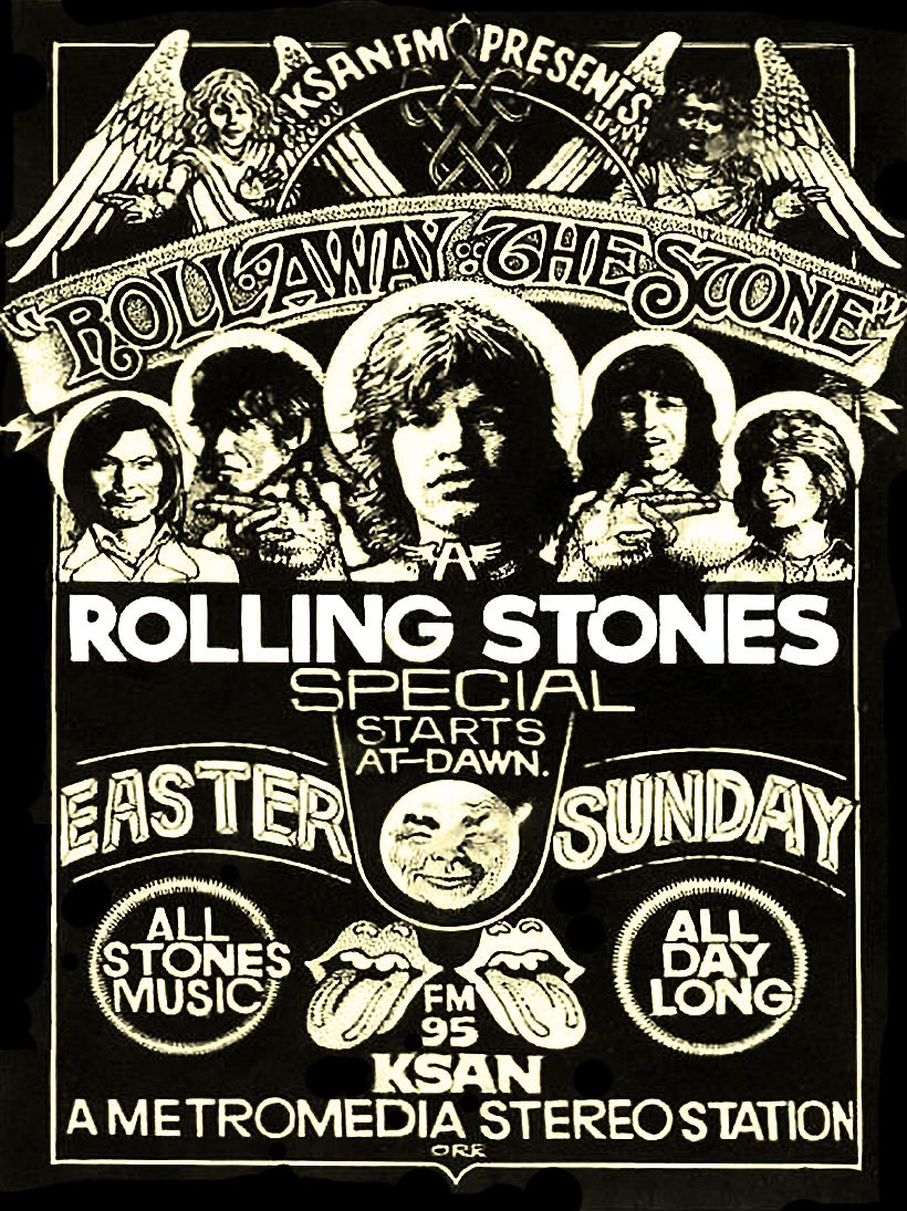 Chrisgoesrock Rolling Stones Poster Rolling Stones Logo Vintage Concert Posters