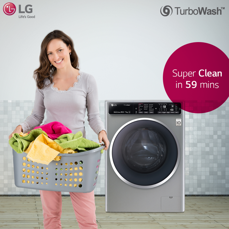 Explore The Fast And Powerful Cleaning Of Lg Front Loading