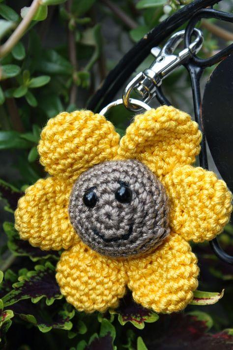 Polly kreativ: Sonnenblume gehäkelt | jucarii | Pinterest ...