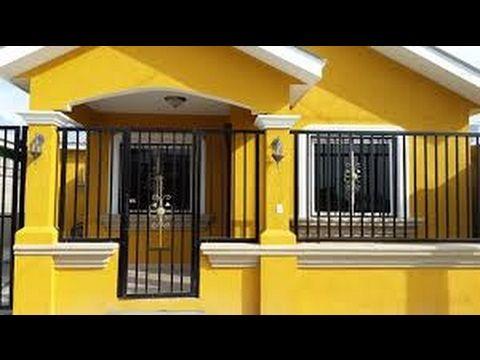 Fachadas de casas sencillas y bonitas youtube 5657 for Modelos de casas sencillas