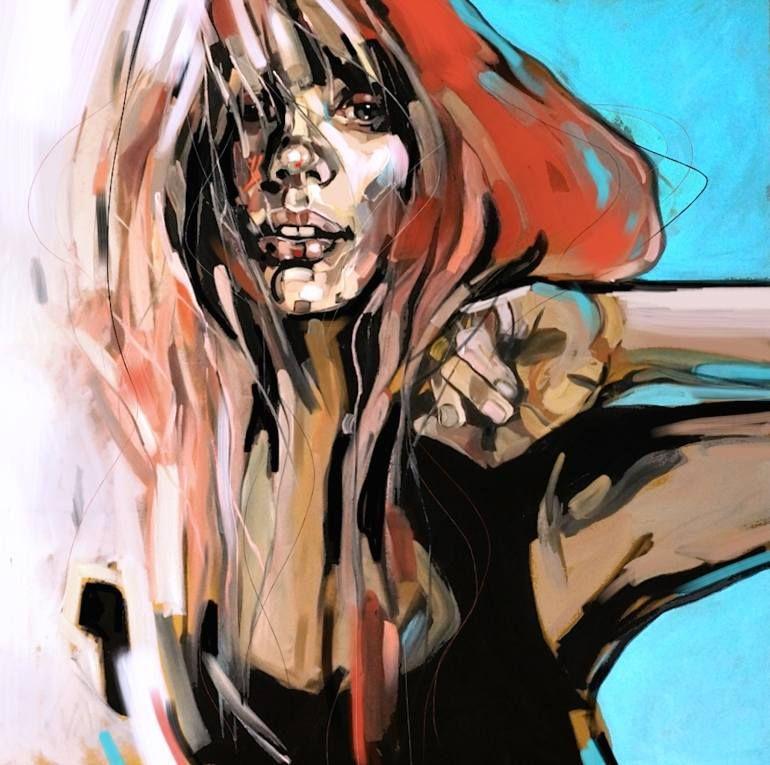 redhead toga Painting