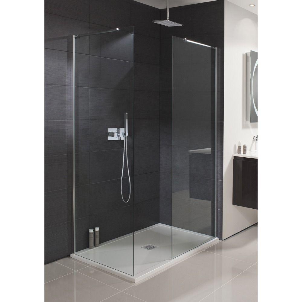 Spring Showers Bring Wet Basements: Simpsons Design Zijwand Met Muurprofiel 100x195cm Zilver Profiel Helder Glas In 2019