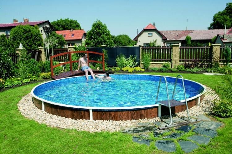 idees de piscine hors sol pour votre jardin magnifique