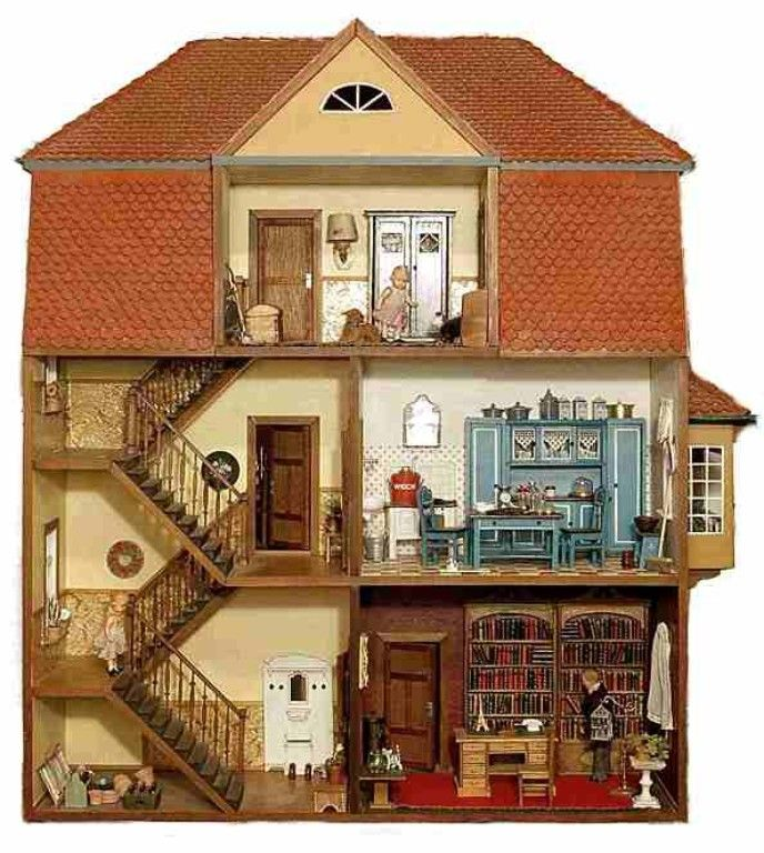 miniaturen 1 zu 12 zuk nftige projekte pinterest miniatur puppenstube und spiel. Black Bedroom Furniture Sets. Home Design Ideas