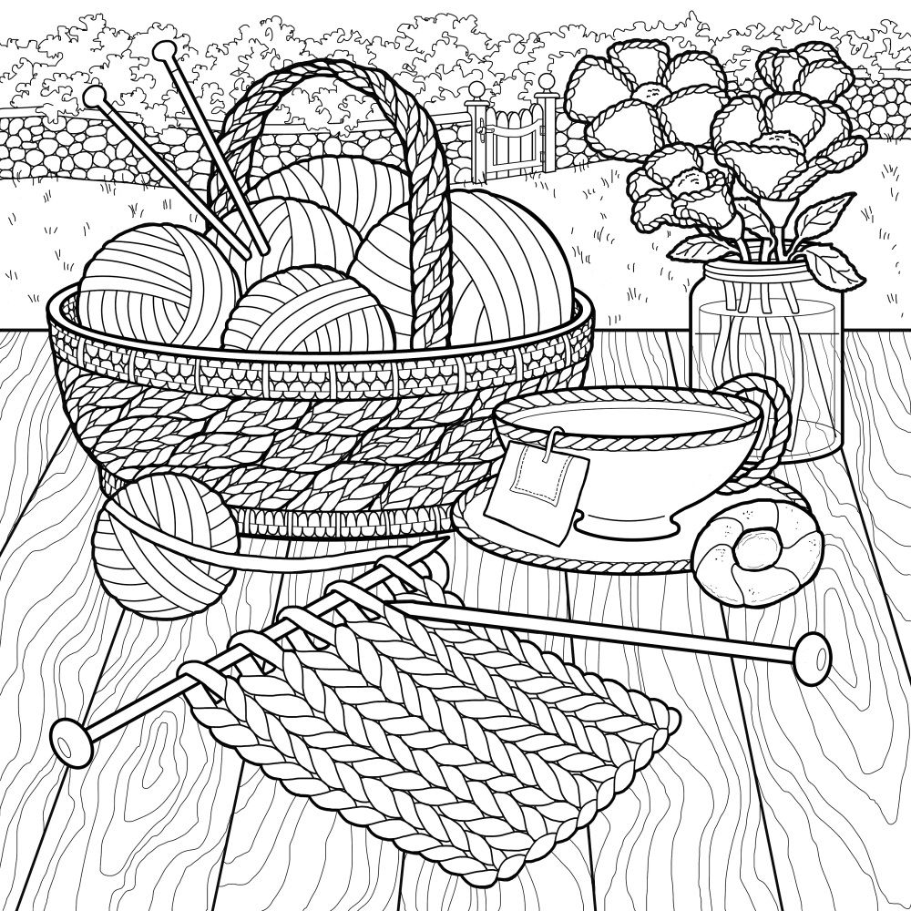 Check Out What Debbie Macomber S New Coloring Book The World Of
