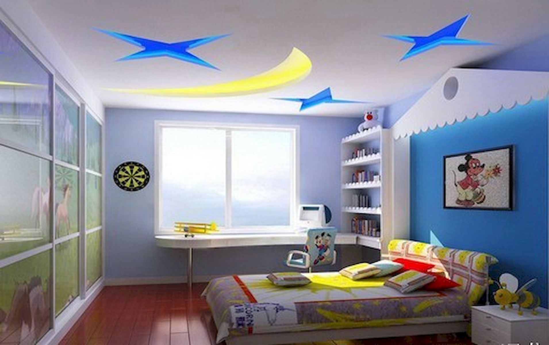 40 Awesome Wall Painting Ideas For Home (With images) | Ceiling ...