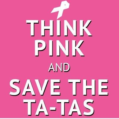 72c03df2e Think Pink and Save the Ta-Tas! Everything Pink