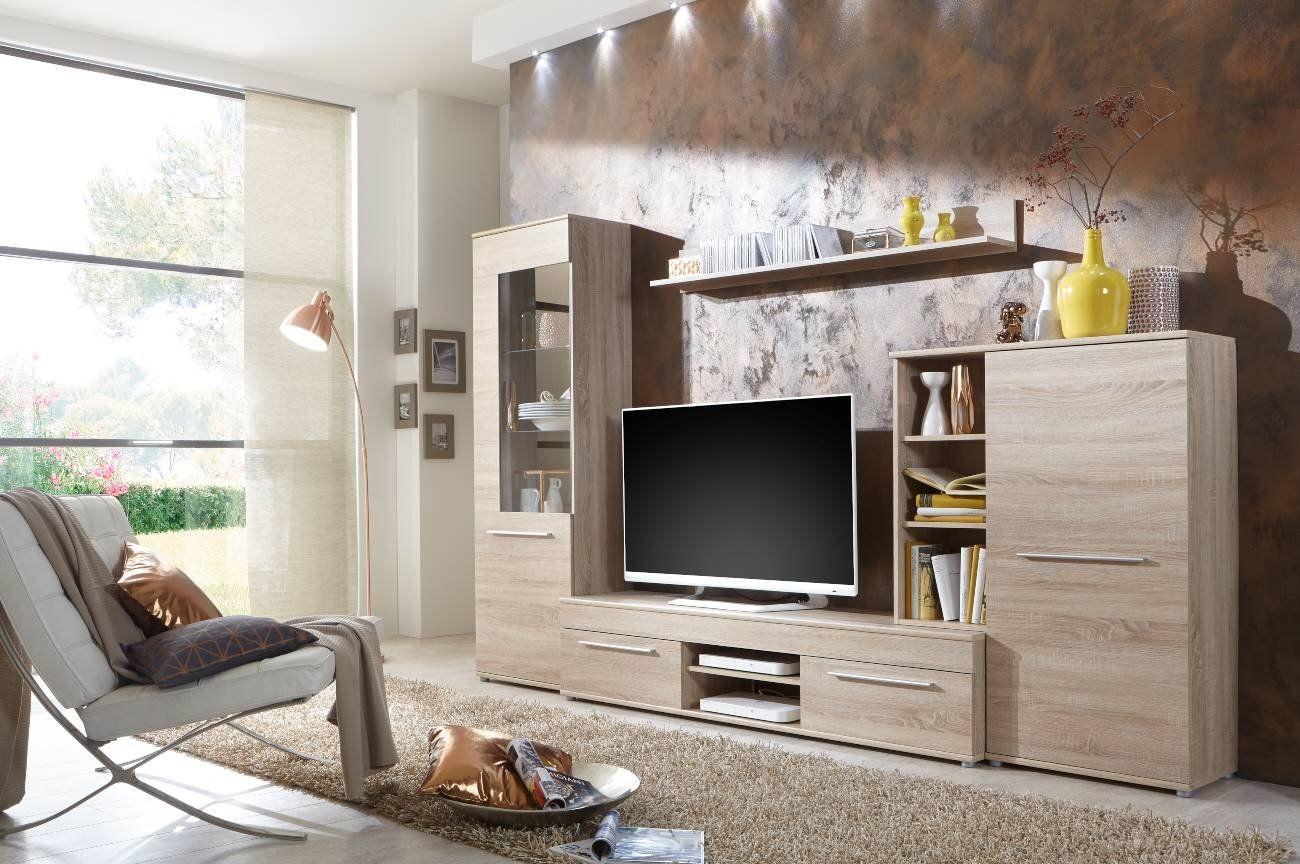 Wohnwand #Wohnzimmerschrank #Fernseh #Schrank #Anbauwand TV