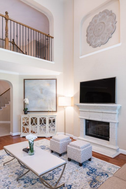 client spotlight taylor's living room composition with