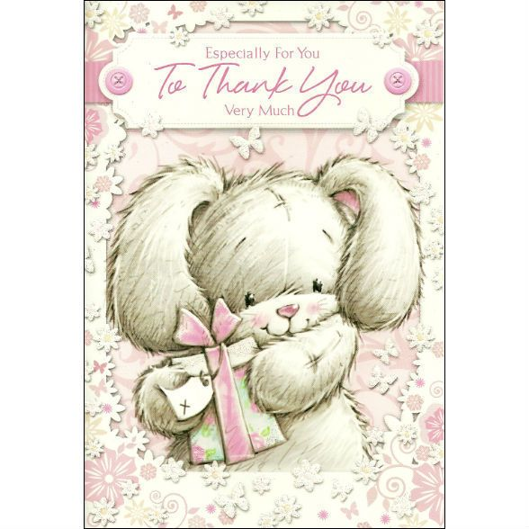 SIMON ELVIN - TO THANK YOU VERY MUCH - CUTE THANK YOU CARD - SE201402