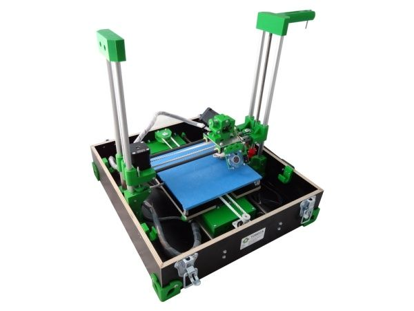 Open source foldable and portable Tobeca 3D printer