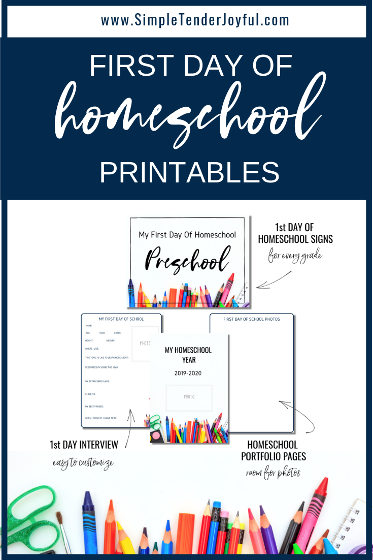 Download Free Printables For The First Day Of Homeschool Including Binder Cover Sheet First D Homeschool Printables Homeschool Binder Homeschool Binder Cover
