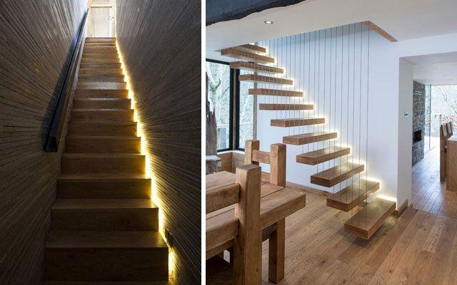 Escaleras Con Luces