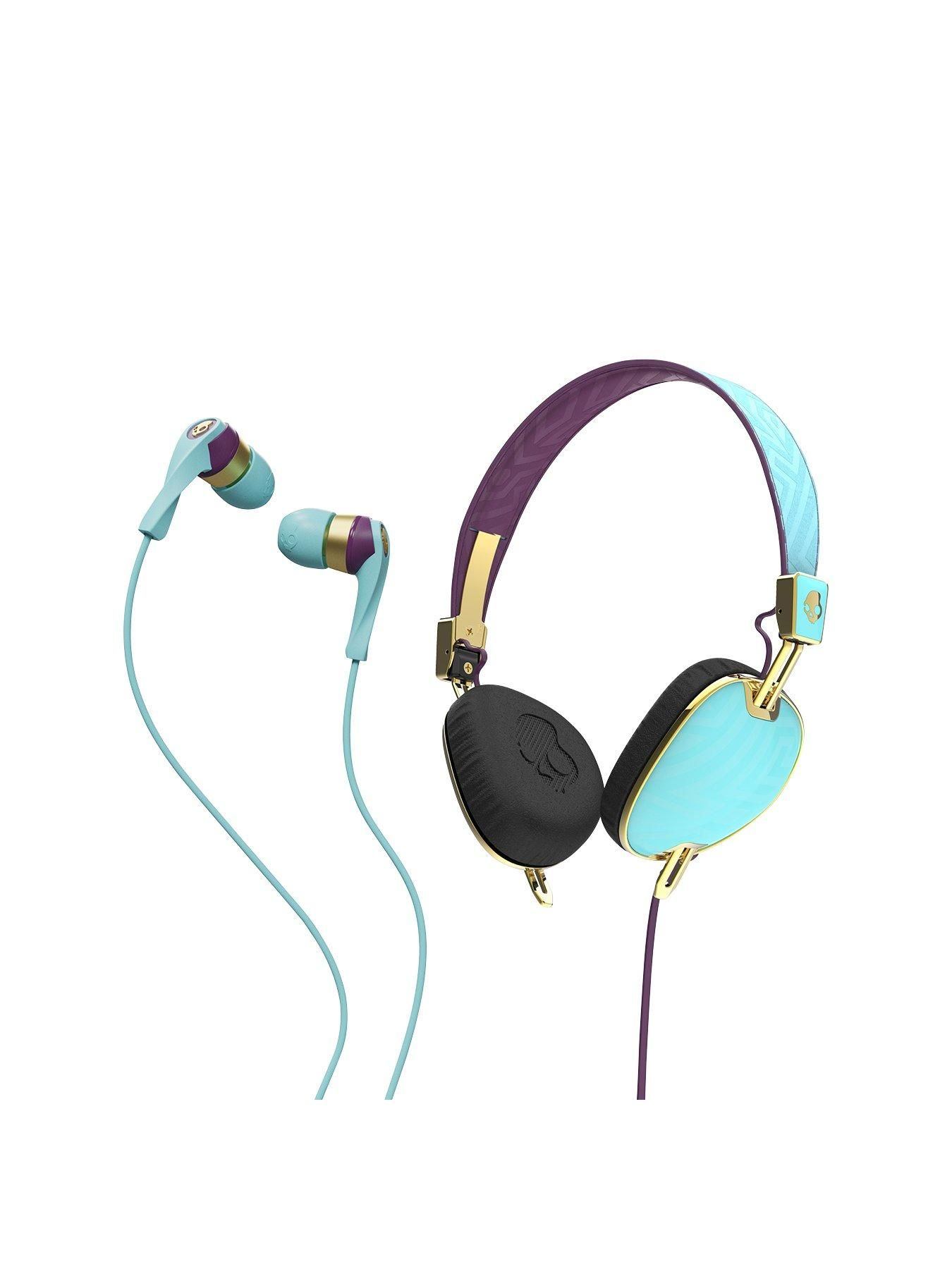 Skullcandy Womens Knockout On Ear Headphones With Free Winkd In Headphone Jack Wiring Diagram