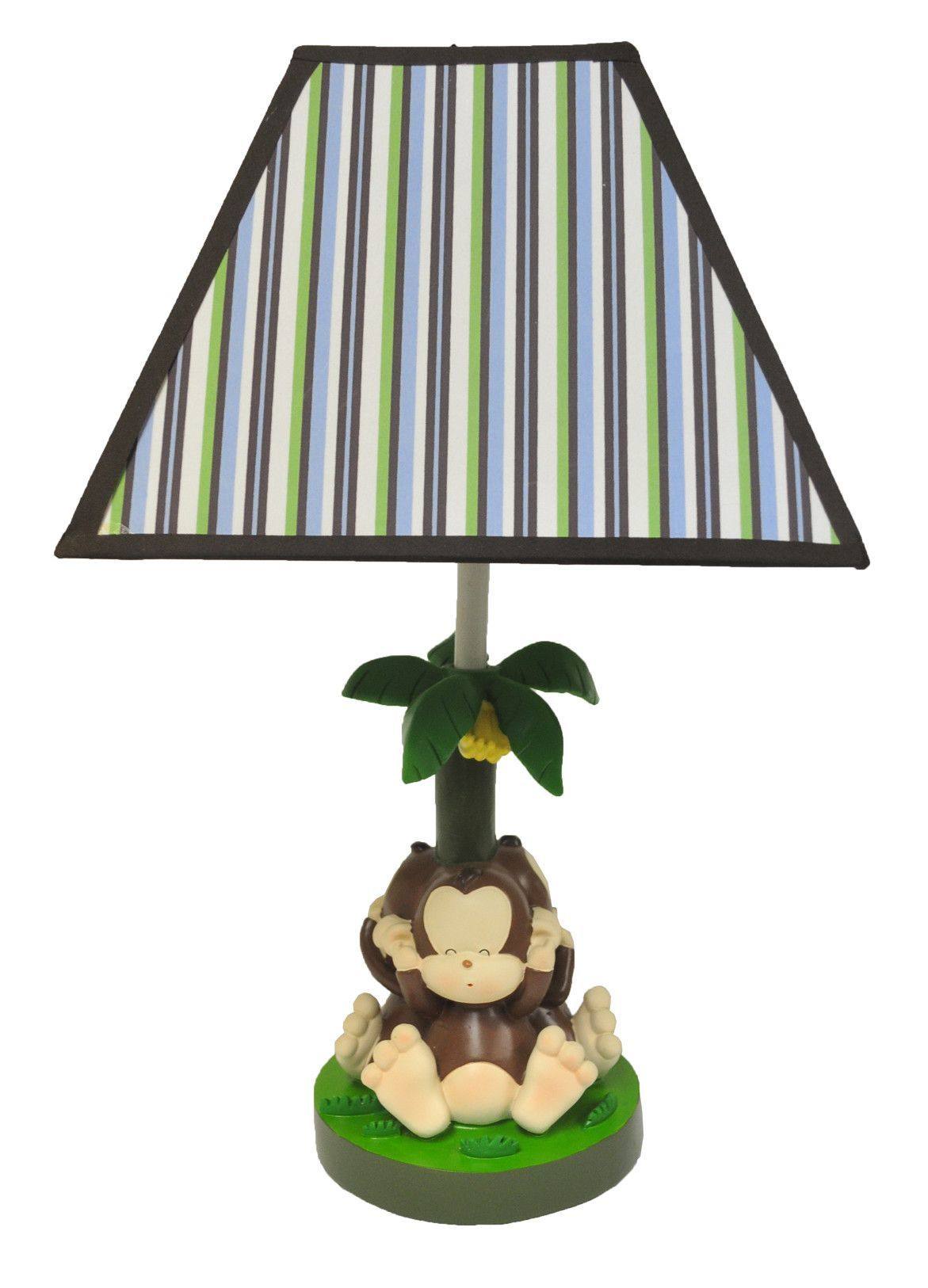 Banana Tree 3 Evil Monkeys 17 Table Lamp Tree Lamp Table Lamp Kids Decor