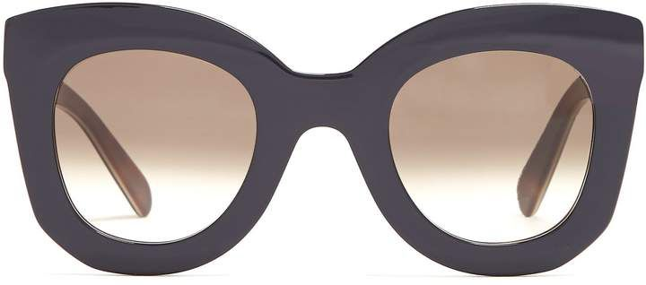 861b45cd6ed CÉLINE EYEWEAR Marta cat-eye acetate sunglasses
