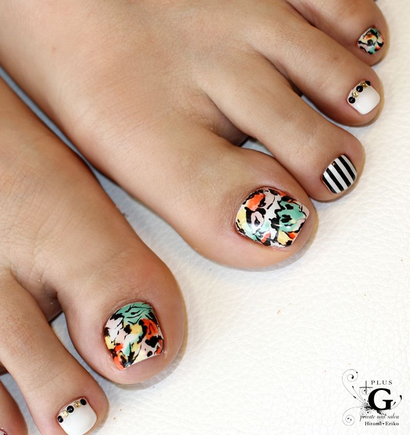 Nangoku Botanical Foot Nail Unas Pies Manicura Bonita Acripie