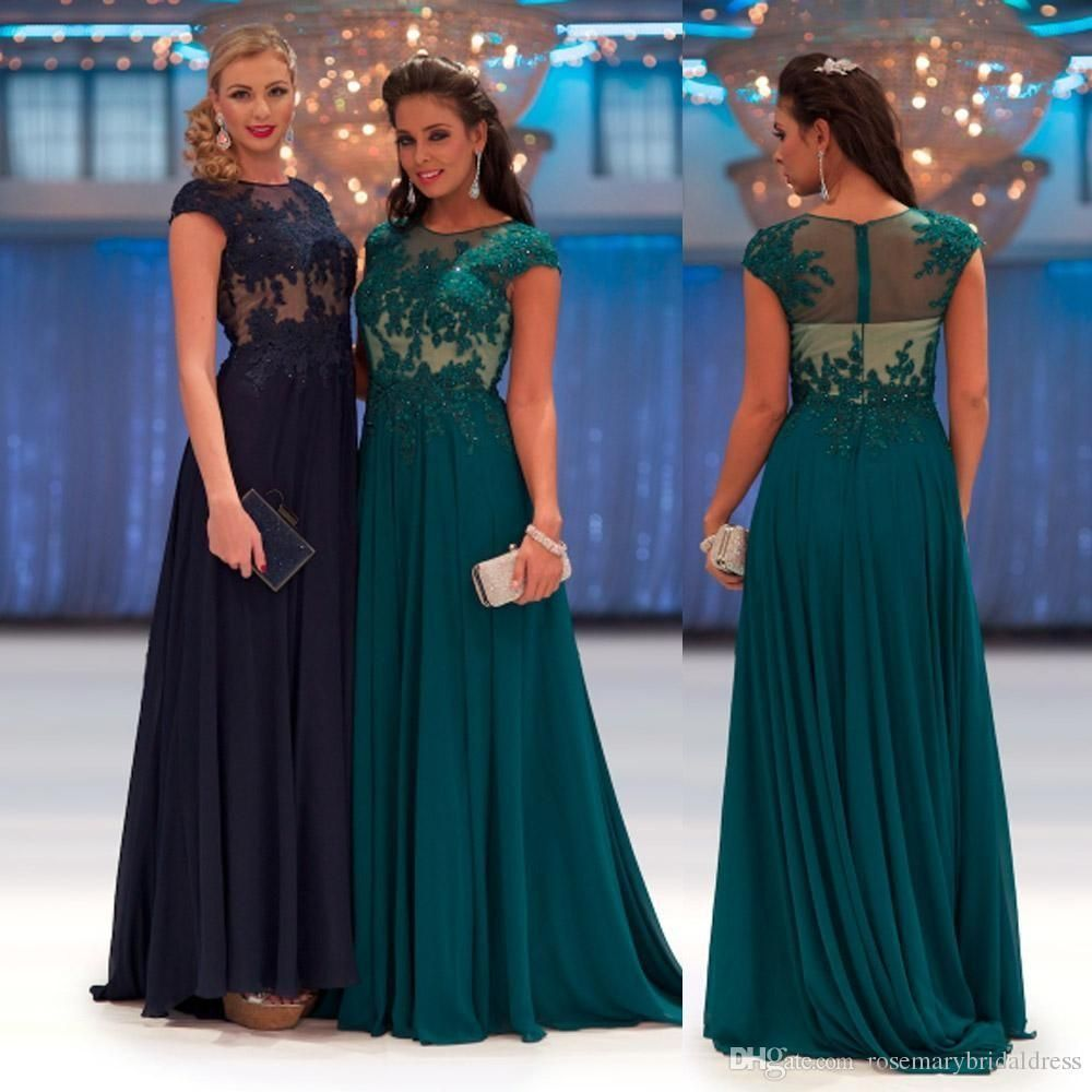 Petite prom dress new arrival scoop teal navy blue pageant prom