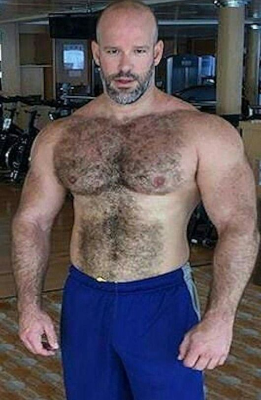 and hairy men Big