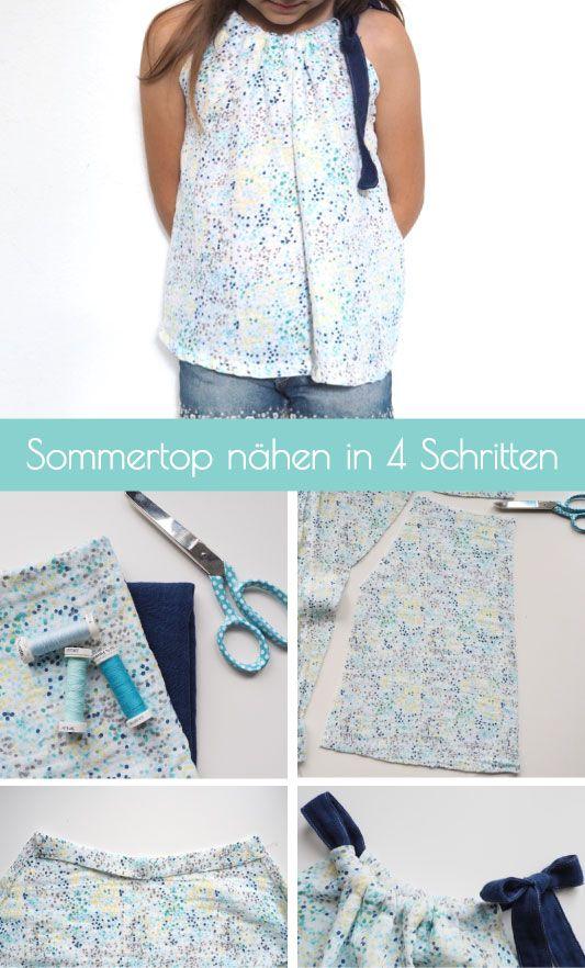 Photo of {genäht} – Nähanleitung für ein schnelles Sommertop
